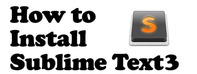 SublimeText3インストールから、メニュー日本語化、imeでのインライン入力まで