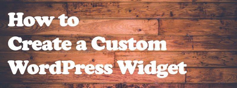 【WordPress】ウィジェットアイテムの作成方法