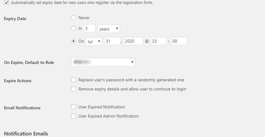 ユーザーの有効期限を設定できる「Expire Users」 一括で登録する方法
